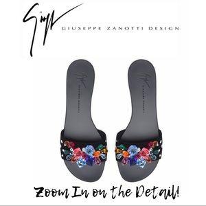 GIUSEPPE ZANOTTI Black 💎 Sandals - NEW